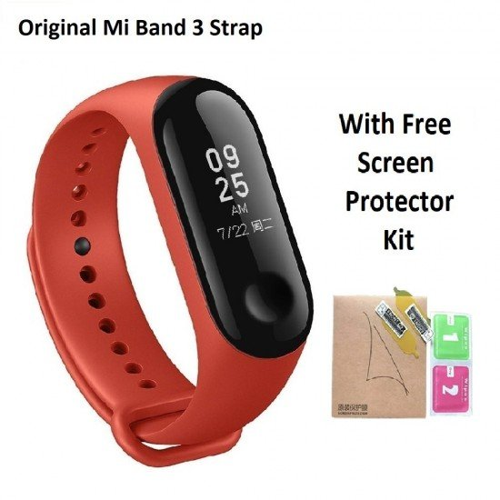 Mi Band 3 Replacement Strap - Red