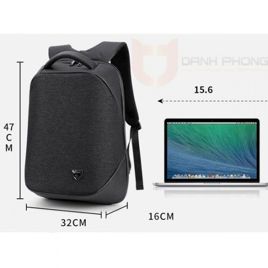 ARCTIC HUNTER Waterproof Business and Travel Laptop Backpack 15.6 with USB Port