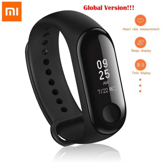 Original Xiaomi Mi Band 3 Bluetooth Fitness Band - Global